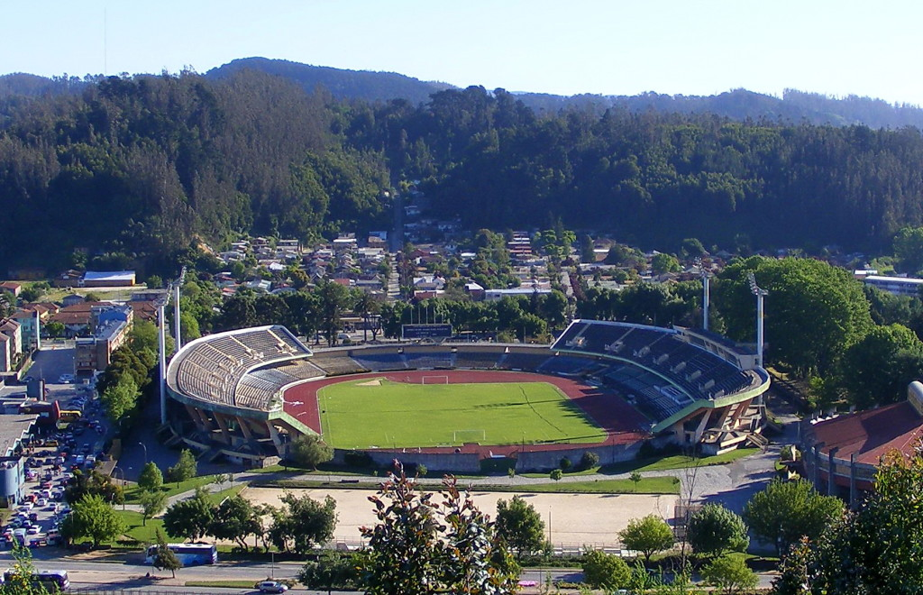 Municipal Stadium, Retire Abroad to Concepción, Chile