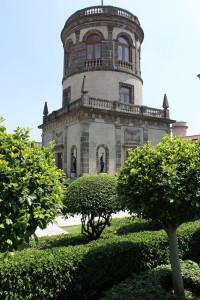 The Tower at the top of Chapultepec Castle - Perfect Day in Mexico City