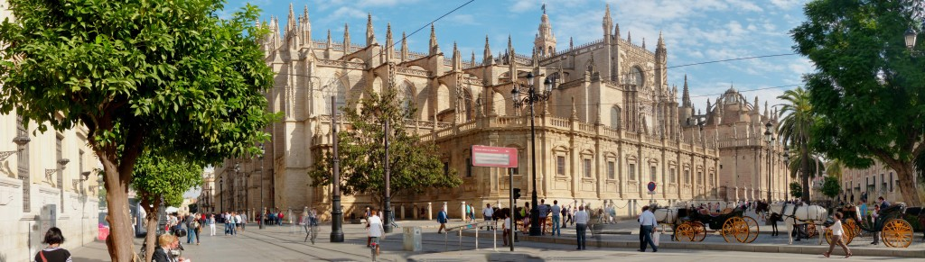 The Cathedral of St. Mary in Seville