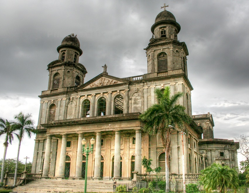 The Cathedral of Managua