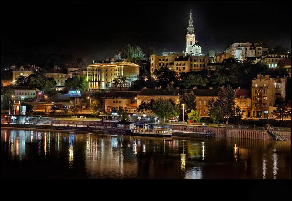 Beautiful Belgrade at Night